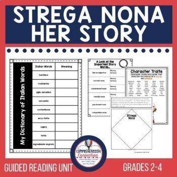 Strega Nona Her Story Comprehension Activities
