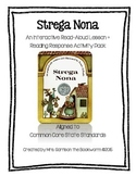 Strega Nona Lesson + Reading Response Activity Pack