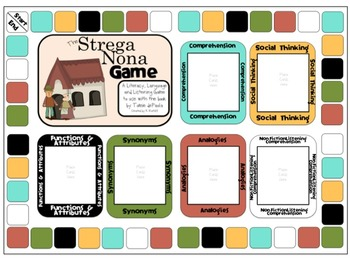 Strega Nona:  Literacy, Language and Listening Game