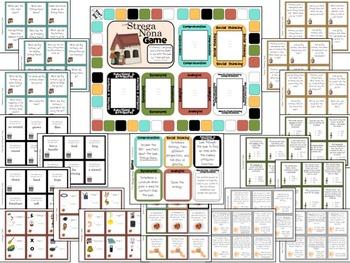 Strega Nona:  Literacy, Language and Listening Game