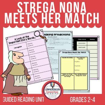 Strega Nona Meets Her Match Comprehension Activities