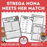 Strega Nona Meets Her Match Comprehension Activities