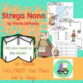 Strega Nona NO-PREP 1st Grade Sub Plans (2 Days)
