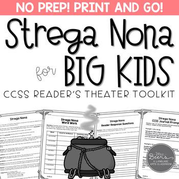 Strega Nona Reader's Theater and Reading Literature Toolkit
