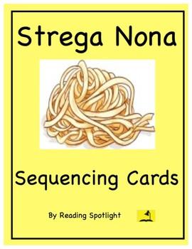 Strega Nona Sequencing Cards