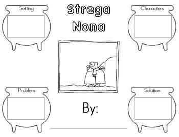 Strega Nona Story Map