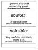 Strega Nona- Text Talk - Vocabulary, Comprehension, Test Prep