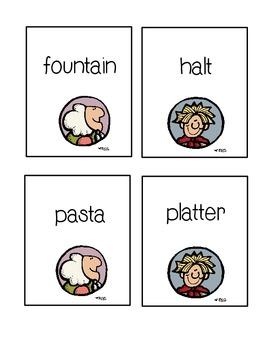 Strega Nona Vocabulary Cards