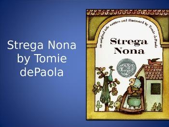 Strega Nona, dePaola, Text Talk, Collaborative Conversations