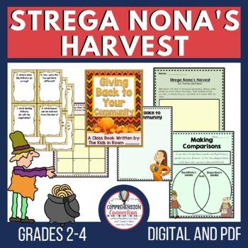 Strega Nona's Harvest Comprehension Activities