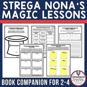 Strega Nona's Magic Lessons Comprehension Activties