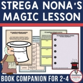 Strega Nona's Magic Lessons Comprehension Activties