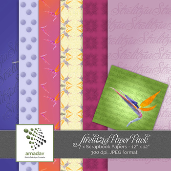 Strelitzia Paper Pack