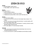 Strength Rock Lesson Plan