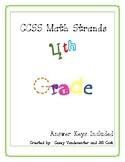 Common Core Math: Repeated Practice in 4th Grade Math Stan
