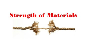 Strength of materials and water resistance