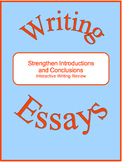 Strengthen Introductions and Conclusions--Interactive Writ