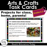 Arts & Crafts Task Cards: Projects for Classroom, Homeschool, and Parents