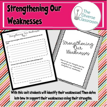 Growth Mindset - Strengthening Our Weaknesses - Back to School