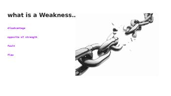 Strengthening Weakness Lesson- Slides