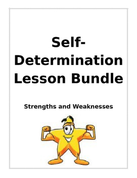 Strengths and  Weakness Lesson bundle