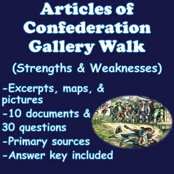 Articles of Confederation Stations (Strengths & Weaknesses)