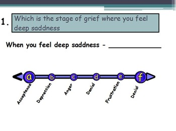 Stress Assessment (Quiz) (SMART BOARD)