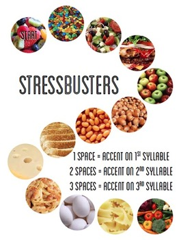 Stress Busters: Phonics Game (Middle Syllables and Affixes)