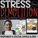 Stress Demolition Group Counseling Program / Google Slides