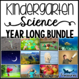 Kindergarten Science Lessons and Printables NGSS Bundle