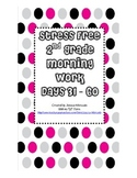 Stress Free Morning Work 2nd Grade Days 31-60