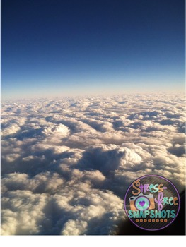 Stress-Free Stock Photo - Above the Clouds