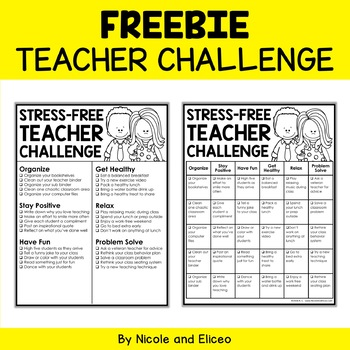 Stress-Free Teacher Challenge