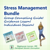 School Counseling Stress Management Bundle for Distance Learning