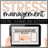 Stress Management Digital SEL Coping Skills Activity for D