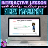 Stress Management Interactive Lesson self directed online