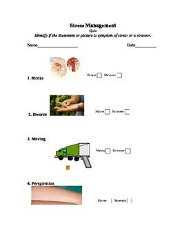 Stress Management Quiz