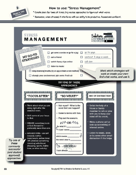 Stress Management Strategy with Sample