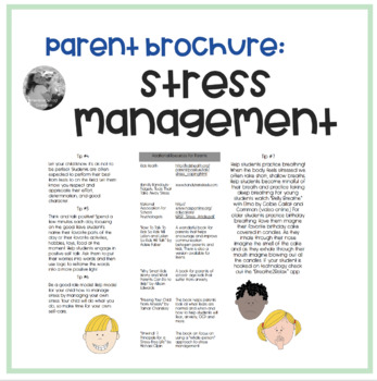 Stress Management- Tips For Parents To Help Their Child