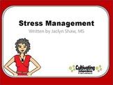 40 Page Stress Management Workshop PowerPoint