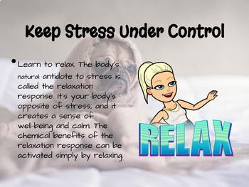 How to Handle Stress for Teens PPT - Lifetime Wellness & Health