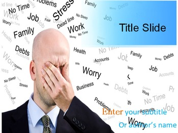Stress PPT Template