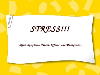 Stress PowerPoint Lesson