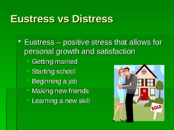 Stress PowerPoint Presentation Lesson Plan