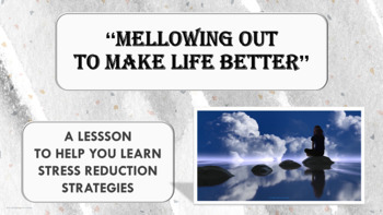 Stress Reduction - Anger Management Lesson PBIS w video li