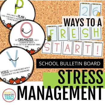 Stress Relief Bulletin Board