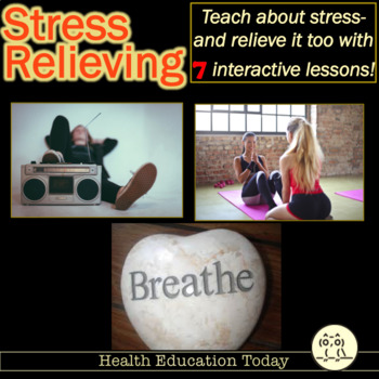 7 Stress Relieving Activities for Any Class Perfect for Afternoon Brain Breaks!