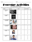 Stress Scale and Size of Problem with Data Sheet- ASD