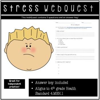 Stress Webquest