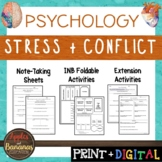 Stress and Conflict - Psychology Interactive Note-taking A